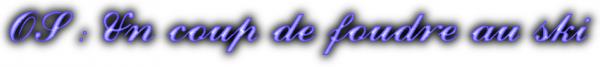 """OS pour le concours """"PourLesFansDAmourSucre"""""""
