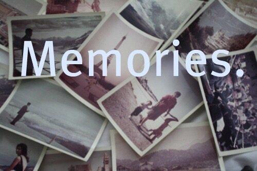 C'était juste des memories.