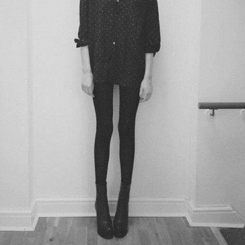 L'histoire d'une anorexique.