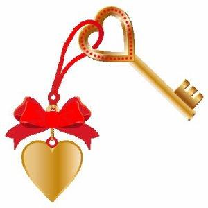 moi et la clé de mon coeur