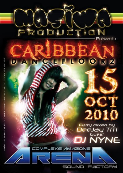 DJ NyNe is back @ l'Arena le 15 Octobre !