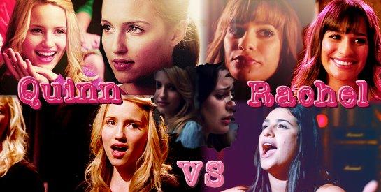 Quinn Vs Rachel !