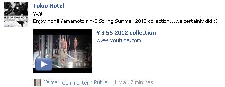 (9082): Facebook - Tokio Hotel