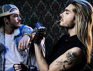 » Attrapé: Les jumeaux de Tokio Hotel fument toujours.