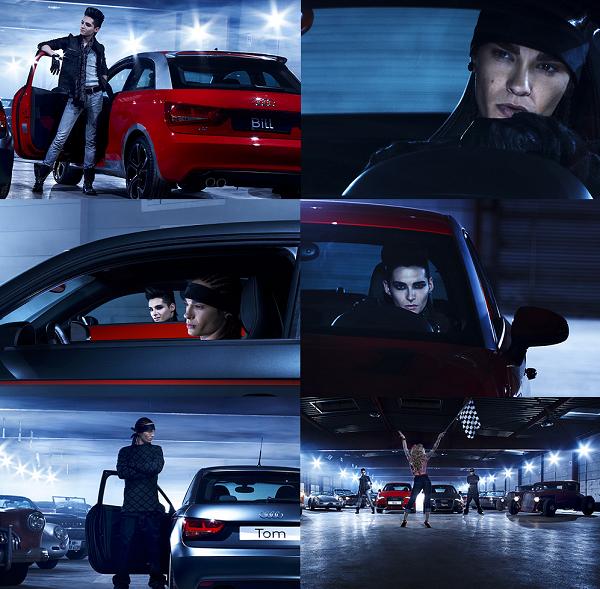 » 2010 - Photoshoot : Audi A1 à Hamburg (Allemagne)
