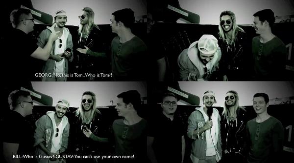 » Tokio Hotel bloopers