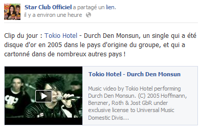 » Facebook - Star Club Officiel
