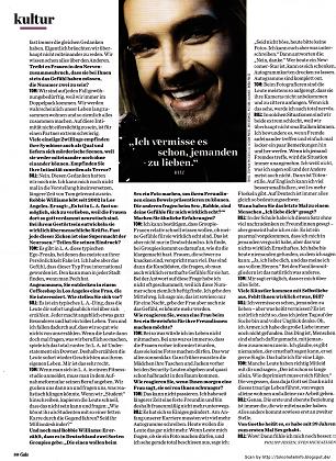 » Interview des jumeaux pour GALA #18/2013 (Allemagne) : « Nous n'avons pas besoin d'un psychothérapeute ! »