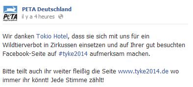 » Facebook - PETA Deutschland