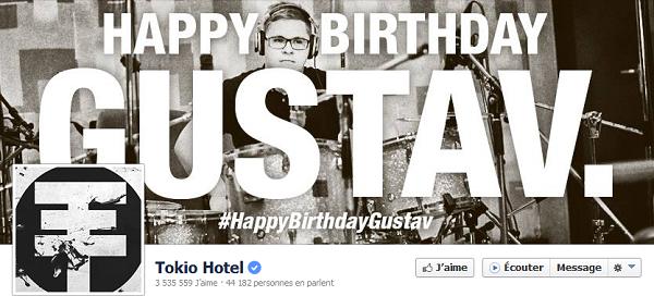 » Facebook - Tokio Hotel : Nouvelle photo de couverture