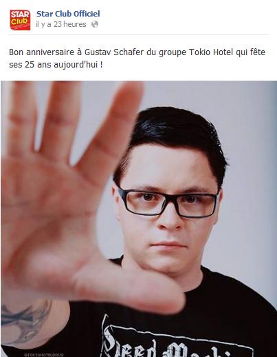 » Facebook - Star Club Officiel
