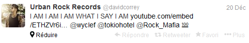 » Twitter - Urban Rock Records ‏@davidcorrey