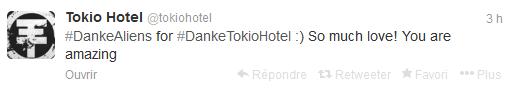 » Twitter - Tokio Hotel