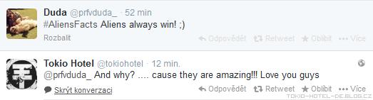 » 05.02.2014 : Twitter - Tokio Hotel