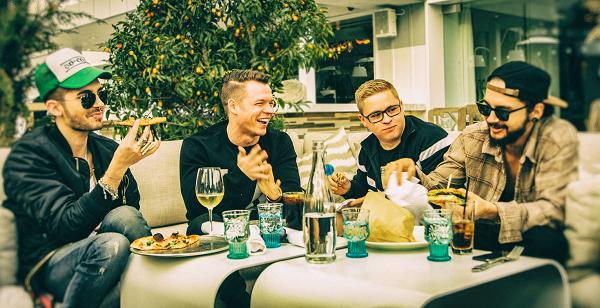 » Tokio Hotel réunis – 1e photo depuis trois ans