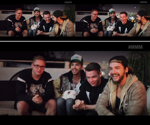 » MTV Musical March Madness 2014 : Message vidéo de Tokio Hotel