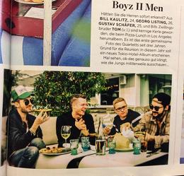 » Des garçons devenus des hommes.
