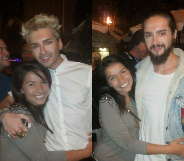 » 09.06.2014 -  Bill et Tom avec des fans à West Hollywood (USA)