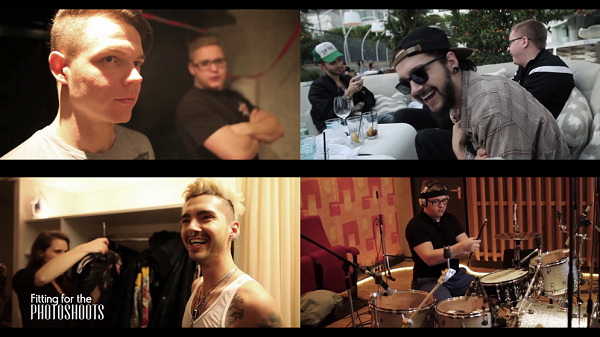 » Tokio Hotel TV 2014 [Episode 01] 'The Boys Are Back In Town' : Les captures
