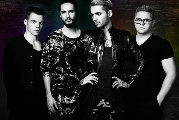 » Bannière sur la chaîne de Tokio Hotel sur YouTube