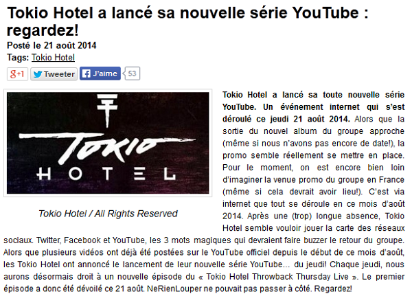 » Article de nerienlouper.fr