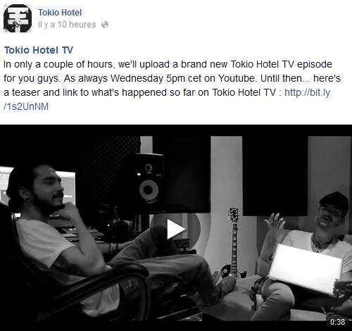 » Facebook - Tokio Hotel