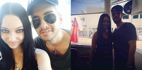 » 26.08.2014  - Bill et Tom avec Alicia Vigil à Los Angeles (USA) / Source : Instagram - aliciavigil