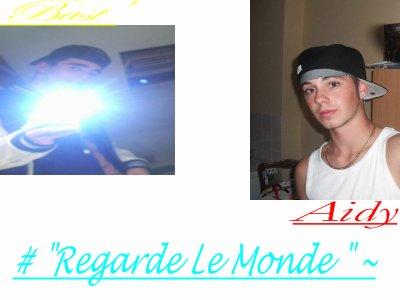 """#""""regarde Le Monde"""" ~"""