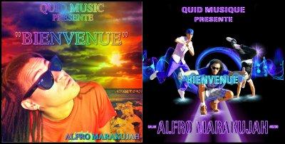 """Alors laquelle vous préférez??? La cover préférez sera utilisée pour le single """"Bienvenue"""" d'Alfro Marakujah by Station Oxen alors donner votre avis......."""