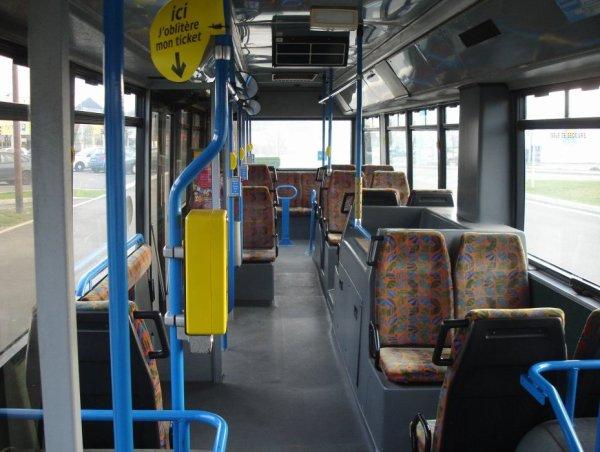 VANHOOL A 300 (moteur diesel) type STANDARD  numérotés de 101 à 104 : seul bus en circulation actuellement.