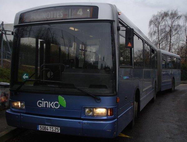 HEULIEZ GX 187 (moteur diesel ) type ARTICULE numérotés de 515 à 520 et  524 : Aucun bus en circulation.