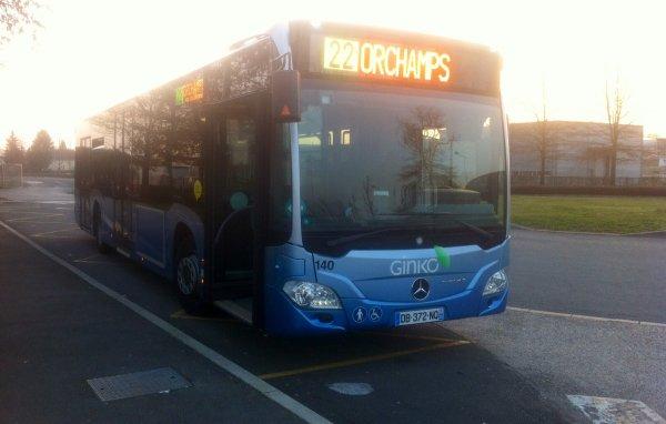 Partons à la découverte du nouveau bus citaro  n°140!