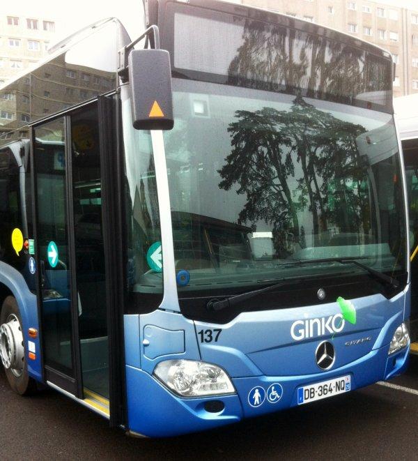 MERCEDES O 530 CITARO C2 (moteur diesel+ AD BLUE) type STANDARD numérotés de 137 à 141 : 5 bus identique en circulation actuellement.
