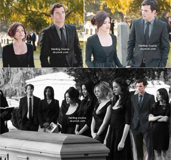 . Still de l'épisode 2x05 de Pretty Litlle Liars + Une vidéo de Ian dans NCIS Los Angeles et la vidéo promo de l'épisode 2x02 de PLL .