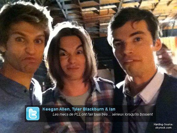 . Deux nouveaux Photoshoot de Ian + Des nouvelles ainsi qu'anciennes photos postées sur Twitter avec le Cast .