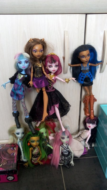 Mes Monster High font de la gym (4)