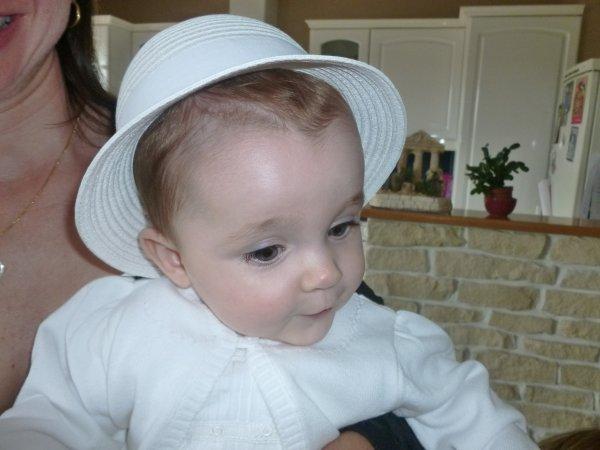 Baptême d'India, ma 2ème petite poupée