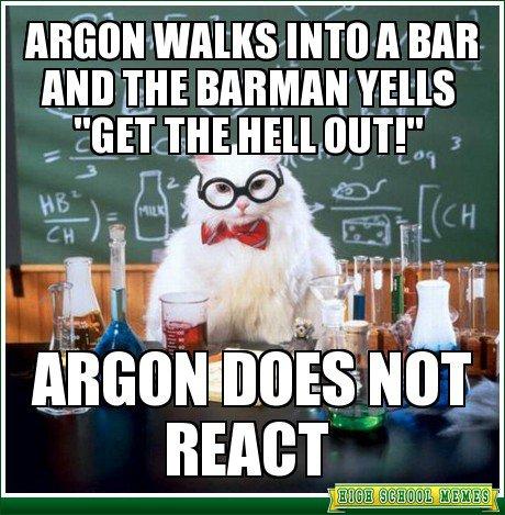 Homage à la chimie ...