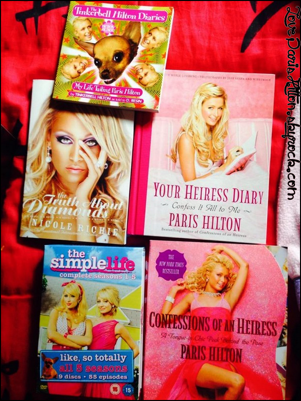 Paris Hilton Fragrances + Ma petite collection hihi #