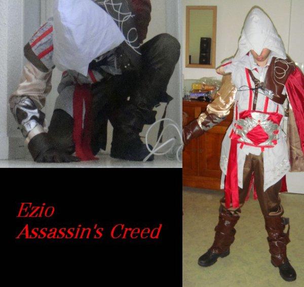 n°1 Akira ● Cosplay - Ezio ( Assassin's creed 2)