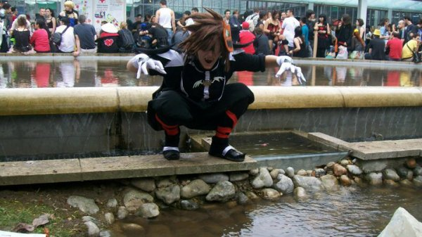 n°24 Dragon ● Cosplay - Sora version Halloween (Kingdom Hearts II)