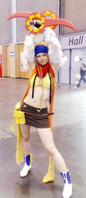 n°52 Di ● Cosplay - Rikku (Final Fantasy X-2)