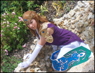 n°54 Alila ● Cosplay - Princess Zelda  (Legend of Zelda : Twilight Princess)