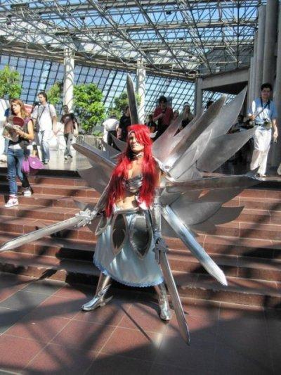 n°66 Hiwatari ● Cosplay - Erza Scarlet (Fairy Tail) *version Reine des Fées*
