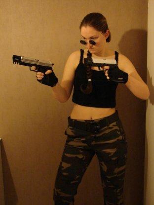 n°85 MelleCroftCosplay ● Cosplay - Lara Croft  (Tomb Rider : l'Ange des ténèbres)