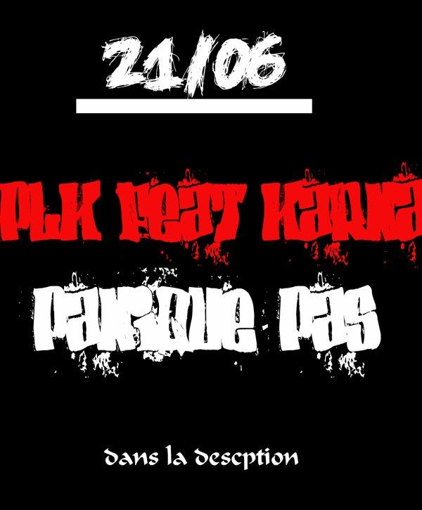 esprit de l'est / PLK feat K'ARNA//panique pas  (2012)