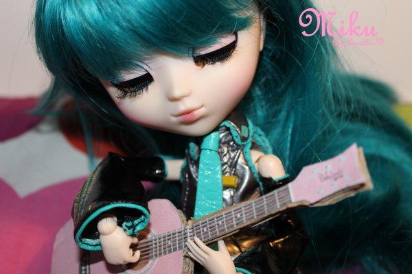 Miku, la douce musicienne