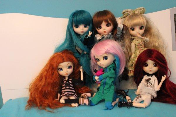 La petite famille de dolls ♥