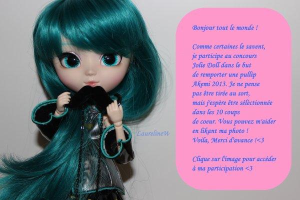 Je participe au concours Joli doll <3