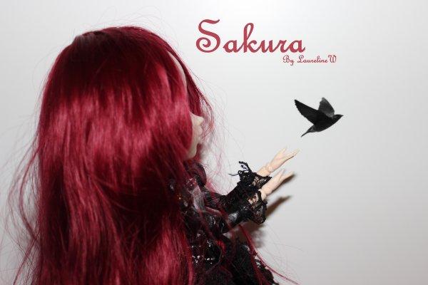 Saku-michan customisée, ça donne la plus belle des démones.